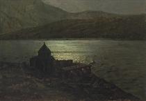 Sevananvank Monastery on Lake Sevan