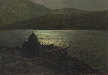 Sevananvank Monastery on Lake