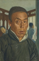 Portrait of a Chinese merchant