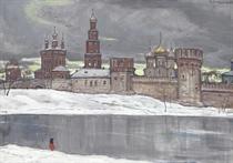 Suzdal in winter