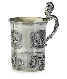 A Silver Handled Cup