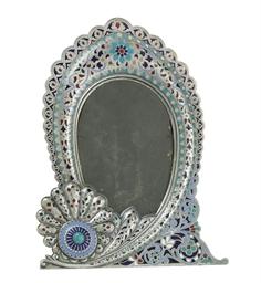An Unusual Silver Plique-à-Jou