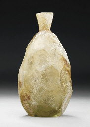 A POST SASSANIAN FACETED GLASS