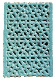 A TIMURID TURQUOISE GLAZED DEE
