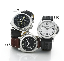 PANERAI. AN OVERSIZED STAINLES