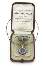 PATEK PHILIPPE. A LADY'S RARE