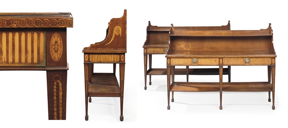 A PAIR OF GEORGE III HAREWOOD,