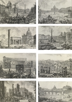 Vedute di Roma: Eight Plates