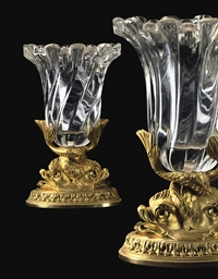 A PAIR OF GEORGE IV ORMOLU AND