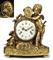 A LOUIS XVI ORMOLU MANTEL CLOCK