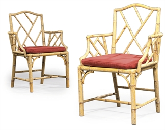 A PAIR OF GEORGE III SIMULATED