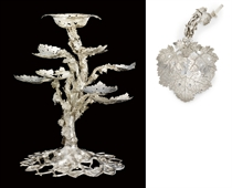 AN IMPORTANT GEORGE III SILVER CENTREPIECE EPERGNE
