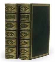 LA FONTAINE, Jean de (1621-1695). Fables. Collection des meilleurs ouvrages de la langue françoise, dédiée aux amateurs de l'art typographique. Paris: P. Didot l'aîné, 1813.