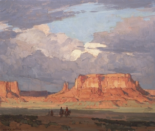 Red Mesa, Monument Valley, Uta