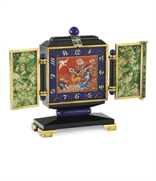 AN ART DECO MULTI-GEM CHINOISE