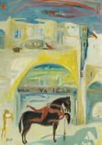 HAMED NADA (EGYPTIAN, 1924-1990)