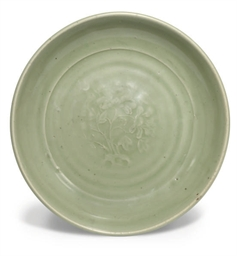 A Chinese celadon 'Longquan' d