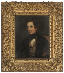 Portrait of Mr Marriot, seated