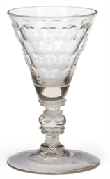 A GERMAN OR BOHEMIAN CUT GLASS