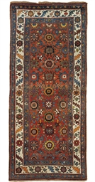 An antique Bijar large rug