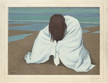 Towelled bather