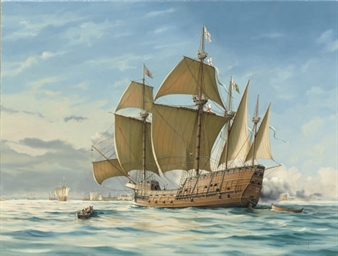 The Mary Rose in Spithead, 154