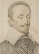 Portrait d'un gentilhomme en buste