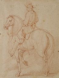 Louis XIV à cheval, d'après va