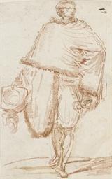 Un homme vu de face avec un ch