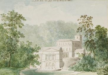 La Villa Pia dans les jardins
