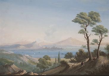 Vue de la baie de Naples, des