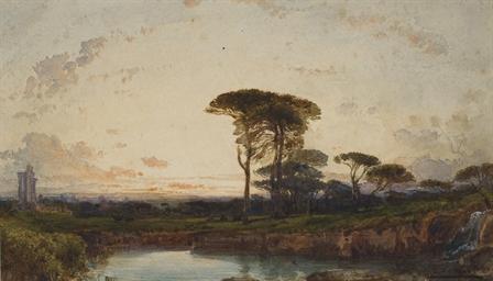 Des pins parasols à Palmyre de