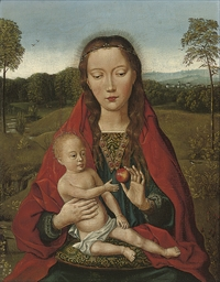 The Virgin and a Child in a la