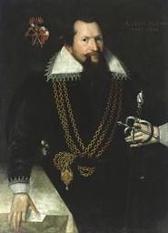 Portrait of a gentleman, three
