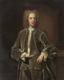 Portrait of Mr Barton, son of