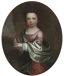 Portrait of a young child, thr