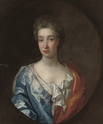Portrait of a lady, half-lengt