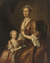 Portrait of a mother and daugh