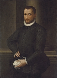 Portrait of a gentleman, three