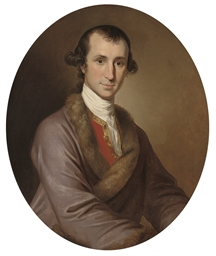 Portrait of Eyles Irwin (c.175