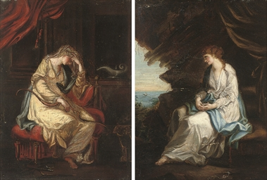 Ariadne abandoned by Theseus o