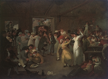 Sailors carousing in the Long