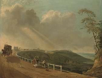 A view of Hampstead Heath with