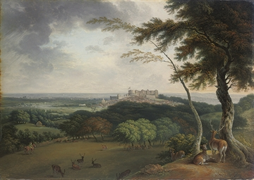 A view of Windsor and Eton fro