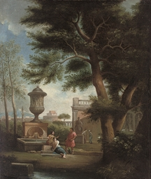 A classical landscape with fig
