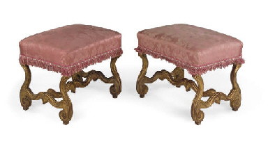A PAIR OF LOUIS XIV GILTWOOD S