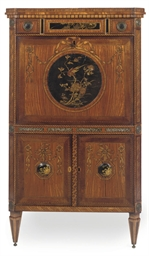 A DUTCH SATINWOOD, HAREWOOD, A