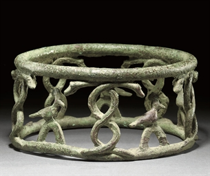 A NEAR EASTERN BRONZE VESSEL S