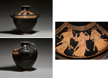 AN ATTIC RED-FIGURE KALPIS, RE