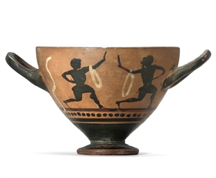 AN ATTIC MASTOID CUP, BELONGIN